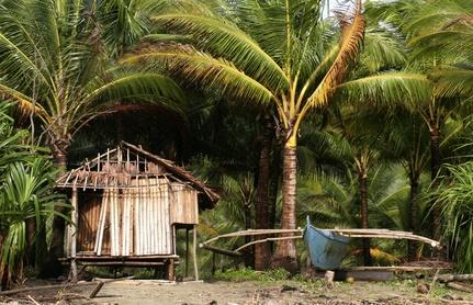 Fischerhütte in Puerto Rico