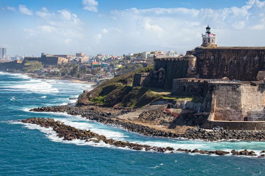 Küste in Puerto Rico