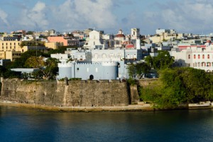 Ein Ausblick auf Puerto Rico