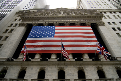 Die Wallstreet in den USA