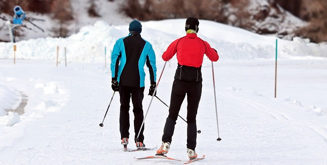 Skifahren in den Rocky Mountains heißt: Weißer Schnee, unendliche Weite und viel Platz